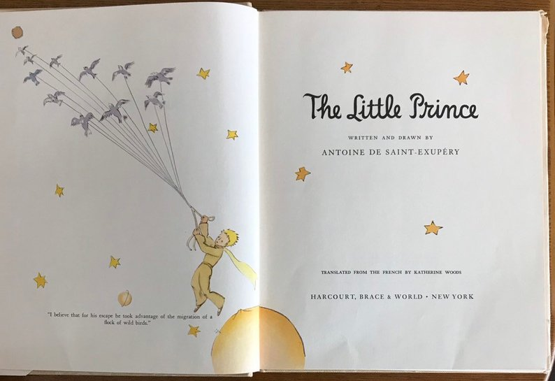 Beautiful Editions The Little Prince The Garden Of Read En